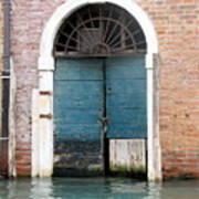 Venetian Door Art Print by Italian Art