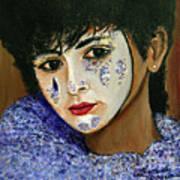 Venetian Girl The Beginning Art Print