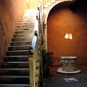 Venetian Stairway Art Print
