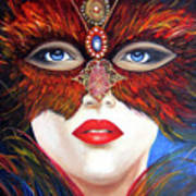 Venetian Tigress Art Print