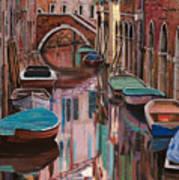 Venezia A Colori Art Print