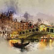 Venezia, Canal Grande Art Print