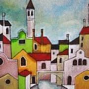 Venezia Scorcio Art Print