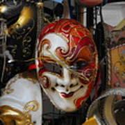 Venezian Masks Art Print