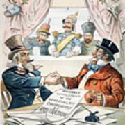 Venezuela Boundary, 1896 Art Print