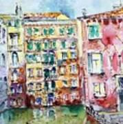 Venice-6-30-15 Art Print by Vladimir Kezerashvili