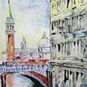 Venice 7-2-15 Art Print by Vladimir Kezerashvili