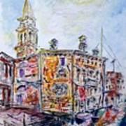 Venice 7-3-15 Art Print by Vladimir Kezerashvili