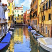 Venice Alleyway 2 Art Print
