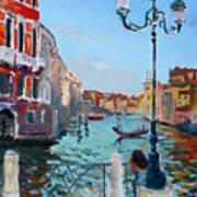 Venice  Aspetando Art Print