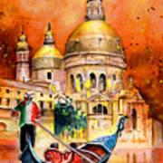 Venice Authentic Art Print