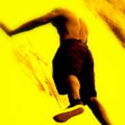 Venice Beach Athlete Art Print