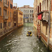 Venice Canal 2 Art Print