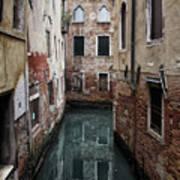 Venice - Canal Dreams  Art Print