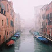 Venice Canal I Art Print