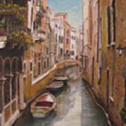 Venice-canale Veneziano Print by Italian Art