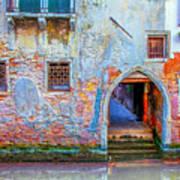 Venice Canareggio Palace Art Print