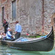 Venice Channels Art Print