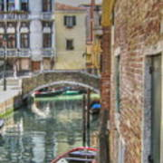 Venice Channels1  Art Print