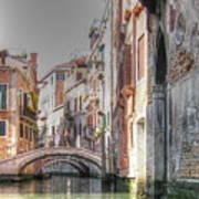 Venice Channelss Art Print