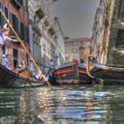 Venice Channelsss Art Print