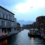 Venice Evening Art Print