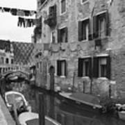 Venice Art Print by Frank Tschakert