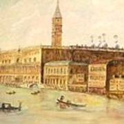 Venice From Grand Canal Art Print