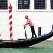Venice Gondola Series #5 Art Print