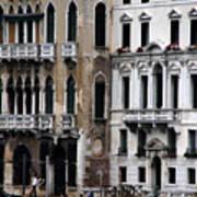 Venice Gondolier 2 Art Print