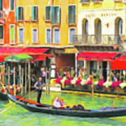 Venice Grand Canal Art Print