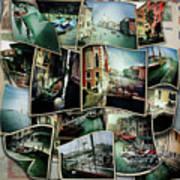 Venice Hipsta Art Print