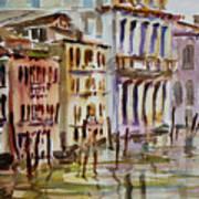 Venice Impression II Art Print