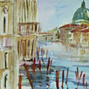 Venice Impression IIi Art Print