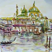 Venice Impression Iv Art Print