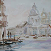 Venice Impression Vi Art Print