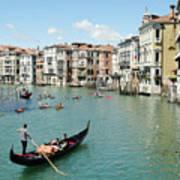 Venice In Colors Art Print