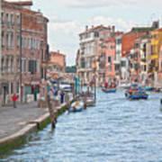 Venice In Pastel  Print by Heiko Koehrer-Wagner
