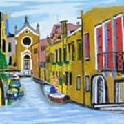 Venice In September Art Print