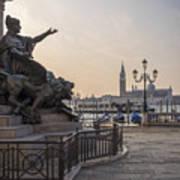Venice - Monumento Nazionale A Vittorio Emanuele  Art Print