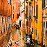 Venice Passage Art Print