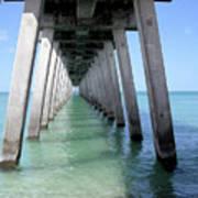 Venice Pier - Florida Art Print