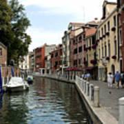 Venice Postcard Art Print