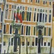 Venice Scene.   Art Print