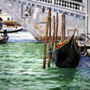 Venice Street Art Print