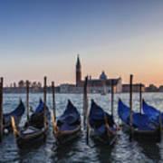 Venice - Sunset Art Print