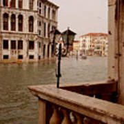 Venice Waterway Art Print