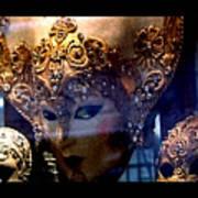 Venician Masks Art Print