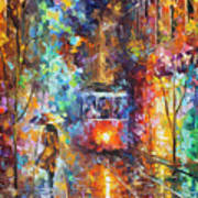 vening Trolley  Art Print