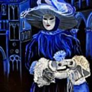 Venitian Mask  Art Print